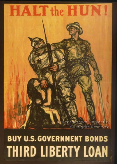 There are some amazing resources online for teaching about propaganda from