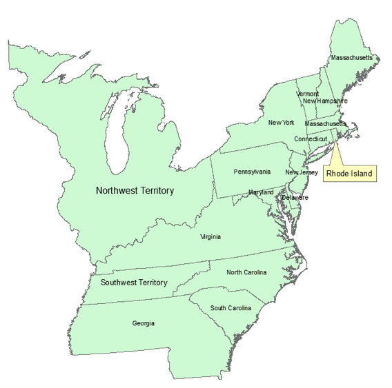 Map Quiz For Social Studies And History Teachers Blog - Map of us in 1790