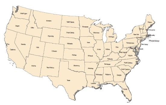 Us Map Quiz Social Studies And History Teacher's Blog