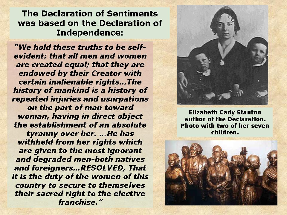 Citaten Seneca Falls : Seneca falls convention social studies and history