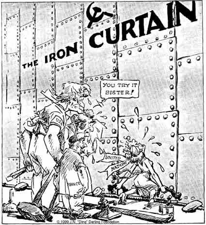 Cold War cartoons | Social Studies and History Teacher's Blog